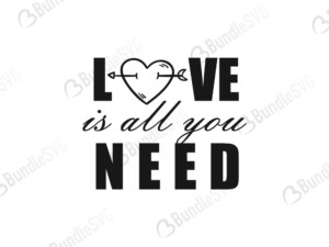 love is all you need, valentine svg, valentine design svg, valentine design, valentine cut files, valentine cricut, valentine svg cut files, svg, cut files, svg, dxf