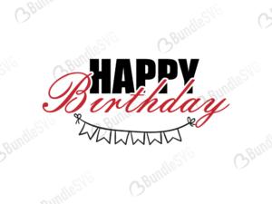 happy, birthday, free svg, svg cut files, svg, dxf, svg file, download svg cut files,