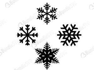 Snowflake Svg Cut Files Free Bundlesvg