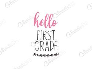 hello, school grade, hello grade free, hello grade download, hello grade free svg, hello grade svg, hello grade design, hello grade cricut, hello grade svg cut files free, svg, cut files, svg, dxf, silhouette, vector, first grade, second grade, third grade, fourth grade, kinder garten,