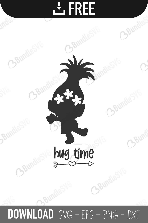 SVG Trolls Cricut Silhouette