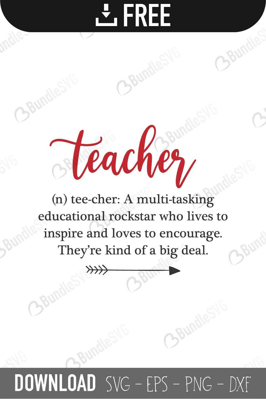 Teacher Svg Cut Files Free Download Bundlesvg