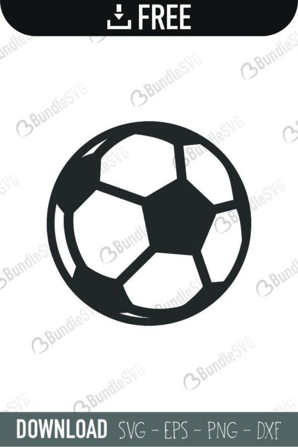 Soccer Ball Svg Cut Files Free Download Bundlesvg