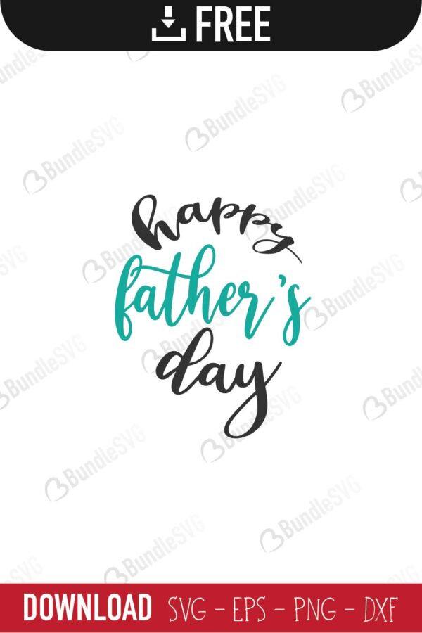 Free Wish you a happy fathers day. Happy Father S Day Svg Cut Files Free Download Bundlesvg SVG, PNG, EPS, DXF File