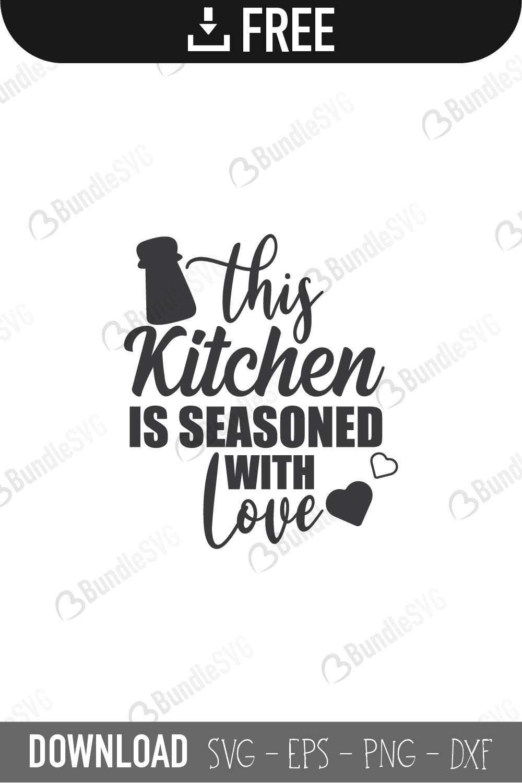Kitchen Svg Cut Files Free Download Bundlesvg