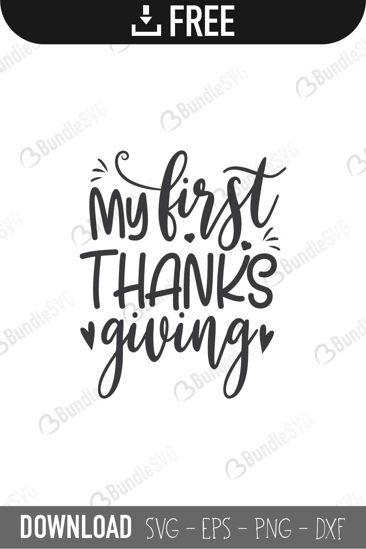 Thanksgiving Svg Cut Files Free Download Bundlesvg