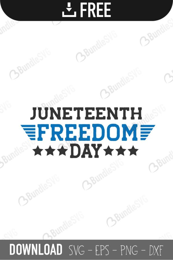 Juneteenth Svg Cut Files Free Download Bundlesvg