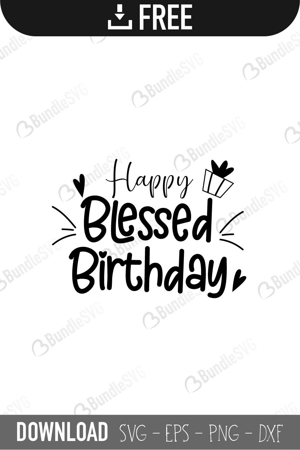 Download Birthday SVG Cut Files Free Download | BundleSVG.com