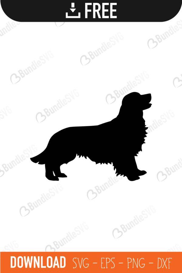 Golden Retriever Dog Svg Cut Files Free Download Bundlesvg