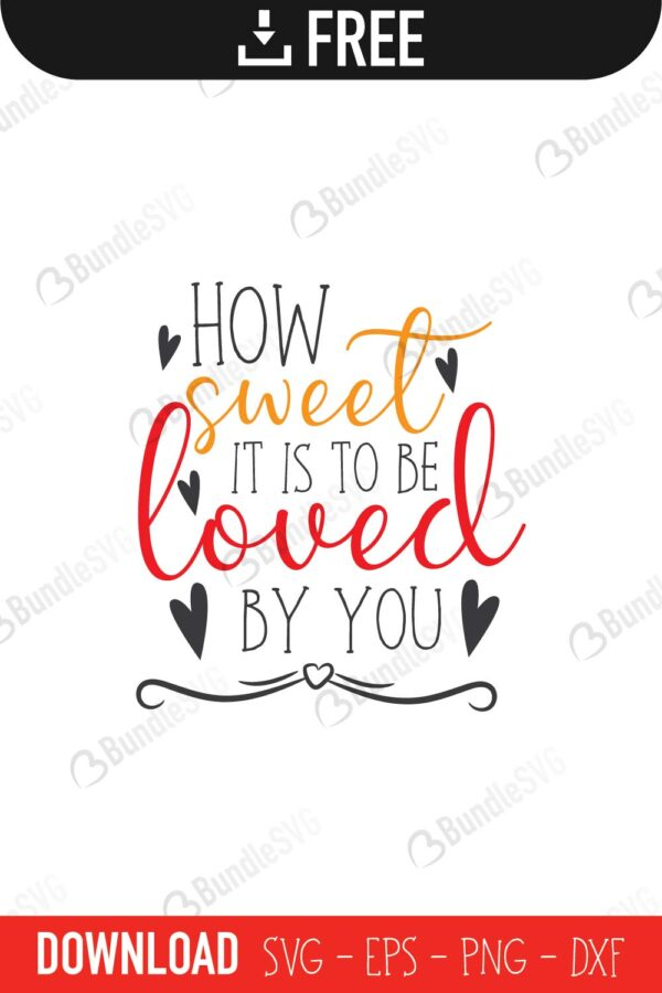 How Sweet Svg Cut Files Free Download Bundlesvg