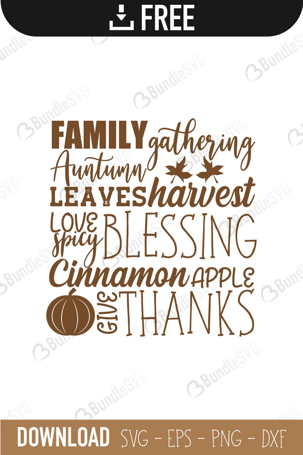 Commercial Use Fall In Love SVG Instant Download Cut File svg dxf eps png Autumn SVG Cutting File