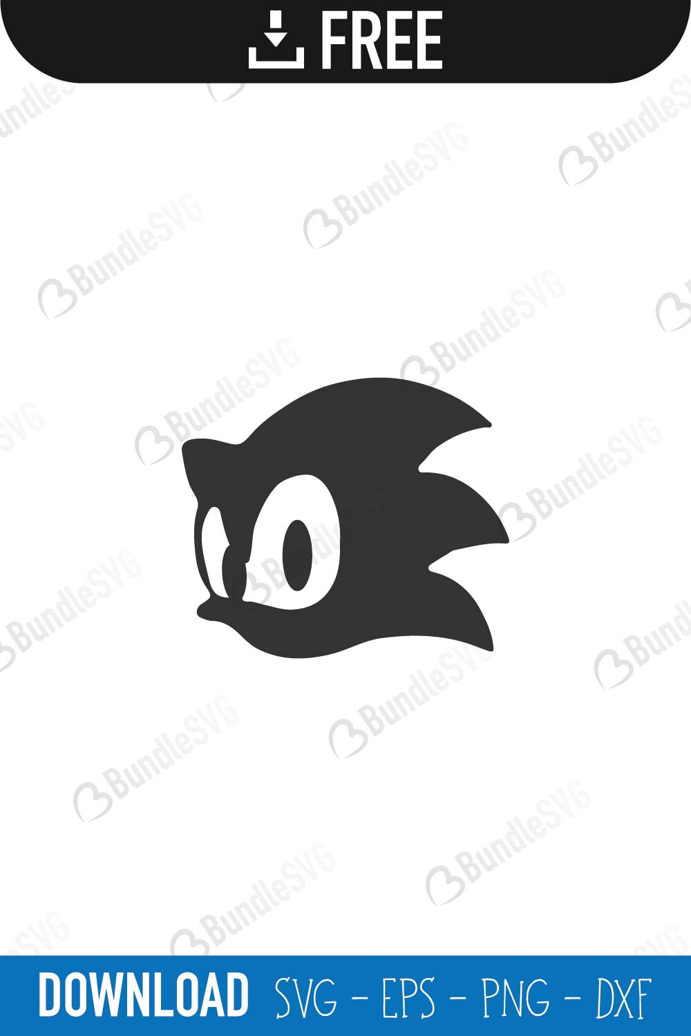 Sonic Hedgehog Svg Cut Files Free Download Bundlesvg
