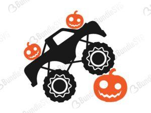 pumpkin, smasher, svg, boy halloween, monster truck, boys cricut, pumpkin truck, pumpkin monster,