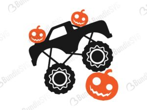 pumpkin, smasher, svg, boy halloween, monster truck, boys cricut, pumpkin truck, pumpkin monster,