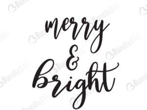 merry, bright, merry and bright, merry and bright free, merry and bright svg free, merry and bright svg cut files free, merry and bright download, cut file,