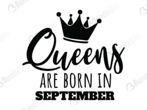 queens, are, born, queens born, free, svg free, svg cut files free, download, cut file,