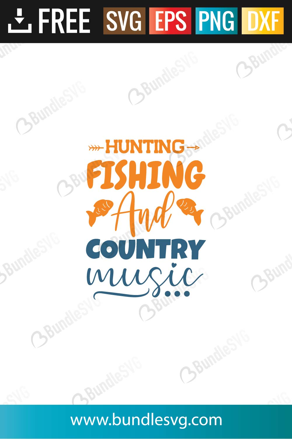 Download Hunting Fishing And Country Music Svg Cut Files Bundlesvg